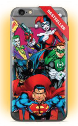 CASE OVERPRINT JUSTICE LEAGUE 004 IPHONE X / XS
