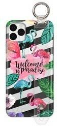 FUNNY CASE WITH HOLDER FLAMINGOS IPHONE 11 PRO