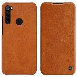 NILLKIN QIN LEATHER CASE XIAOMI REDMI NOTE 8 BROWN