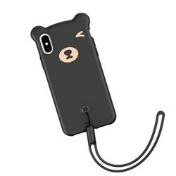 Baseus Bear Case for iPhone X / XS - Black