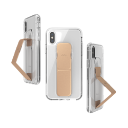 CLCKR CLEAR GRIPCASE FOUNDATION for iPhone X/Xs
