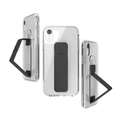 CLCKR CLEAR GRIPCASE FOUNDATION for iPhone XR