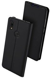 Case XIAOMI REDMI 7 Dux Ducis Skin Leather black