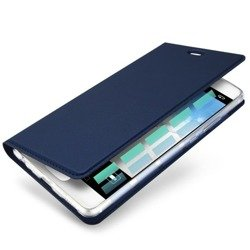 DUX DUCIS SKIN LEATHER IPHONE X DARK BLUE