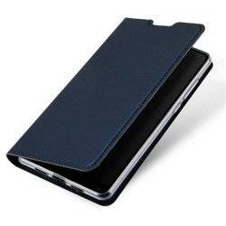 Dux Ducis Case Skin Leather Iphone XR 6.1' navy blue
