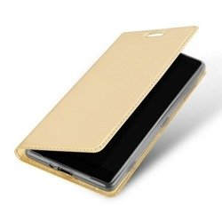 Dux Ducis Case Skin Leather case ASUS ZENFONE MAX gold