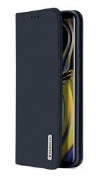 Dux Ducis Case Wish Leather Huawei Mate 10 navy blue