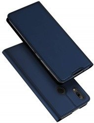 Dux Ducis Skin Leather Case HUAWEI P SMART 2019 dark blue