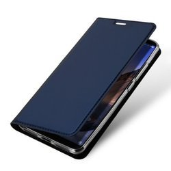 Dux ducis skin leather Samsung G960 S9 dark blue