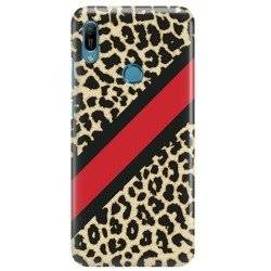 FUNNY CASE AWESOME GEPARD PRINT HUAWEI Y6 2019