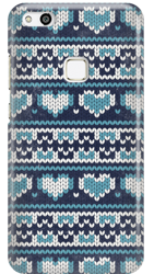 FUNNY CASE BLUE SWEATER OVERPRINT HUAWEI P10 LITE