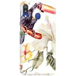 FUNNY CASE OVERPRINT TOUCAN AND FLOWER SAMSUNG GALAXY M10