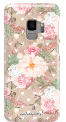 FUNNY CASE ROSES AND HEARTS OVERPRINT SAMSUNG GALAXY S9