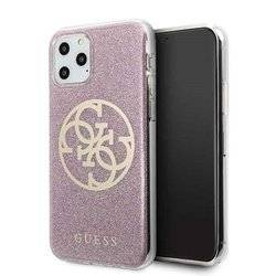 GUESS HARD CASE CIRCLE GLITTER GUHCN58PCUGLPI IPHONE 11 PRO PINK