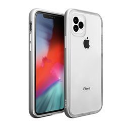 Laut Exoframe for iPhone 11 Pro Max silver colored
