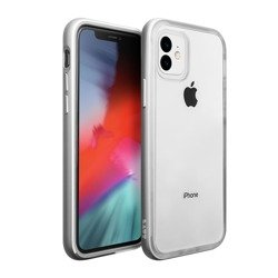 Laut Exoframe for iPhone 11 silver colored