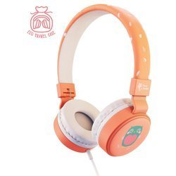 Planet Buddies Owl Wired Kid's Headphone pink