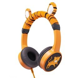 Planet Buddies Tiger Character Headphones Wired
