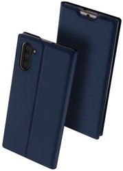 SAMSUNG GALAXY NOTE 10 Dux Ducis Skin Leather case navy blue