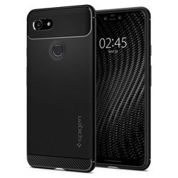 Spigen Rugged Armor for Pixel 3 XL matt black