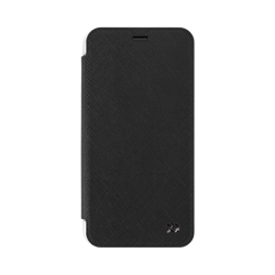XQISIT Flap Cover Adour for iPhone X/Xs black