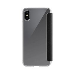 XQISIT Flap Cover Adour for iPhone XS Max black