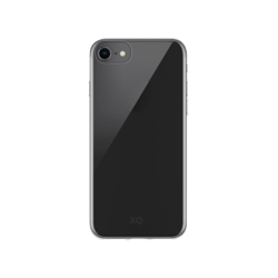 XQISIT Phantom Glass for iPhone SE 2 clear