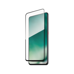 XQISIT Tough Glass CF curved for MI 9T PRO clear