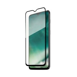 XQISIT Tough Glass CF curved for OnePlus 7T clear
