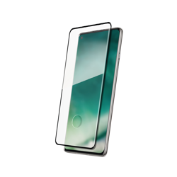 XQISIT Tough Glass CF flat for OnePlus 8 Pro black
