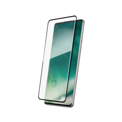 XQISIT Tough Glass CF flat for OnePlus 8 black