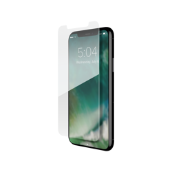 XQISIT Tough Glass CF flat for iPhone 11 / XR