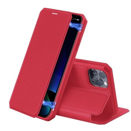 Case SAMSUNG GALAXY NOTE 10 Dux Ducis Skin X red