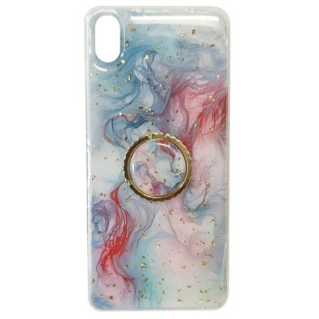 Case SAMSUNG GALAXY S10+ PLUS Marble Ring turquoise