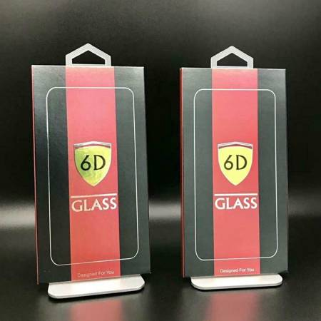 "Tempered Glass 6D iPh XR 11 6.1"" black"