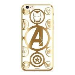 CASE ETUI CHROME MARVEL AVENGERS 007 IPHONE 6 PLUS / 7 PLUS / 8 PLUS ZŁOTY