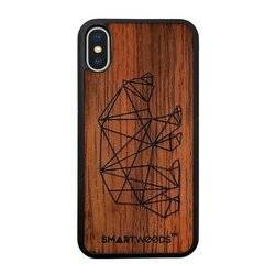 CASE ETUI DREWNIANE SMARTWOODS BEAR ACTIVE IPHONE X / IPHONE XS