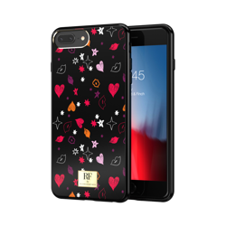 CASE ETUI RICHMOND & FINCH HEART AND KISSES IPHONE 6 PLUS / 6S PLUS / 7 PLUS / 8 PLUS