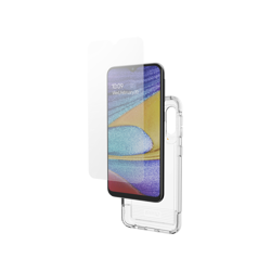 GEAR4 Case D3O with IS Glass for Galaxy A20e clear