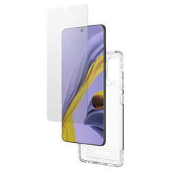 GEAR4 Case D3O with IS Glass for Galaxy A51 clear