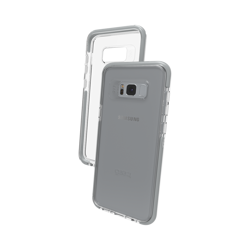 GEAR4 Piccadilly for Galaxy S8 Plus silver colored