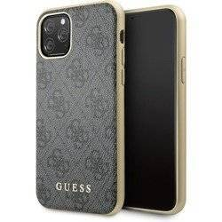 GUESS HARD CASE 4G CHARMS COLLECTION GUHCN58G4GG IPHONE 11 PRO SZARY