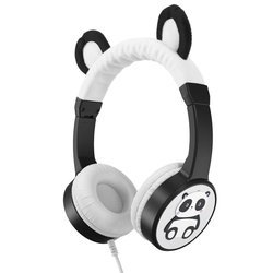 Planet Buddies Panda Character Headphones Wired