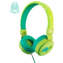 Planet Buddies Turtle Wired Kid's Headphone green