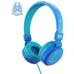 Planet Buddies Whale Wired Kid's Headphone blue