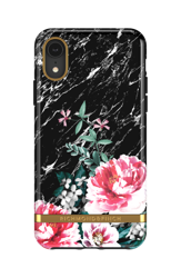 Richmond & Finch Black Marble Floral for iPhone XR