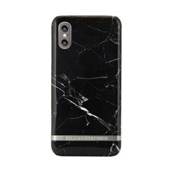 Richmond & Finch Black Marble - Silver details