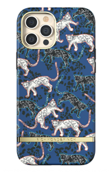 Richmond & Finch Blue Leopard iPhone 12 Pro Max