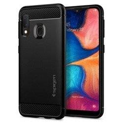 Spigen Rugged Armor for Galaxy A20e matt black