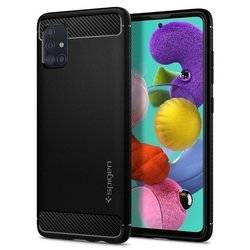 Spigen Rugged Armor for Galaxy A71 matt black